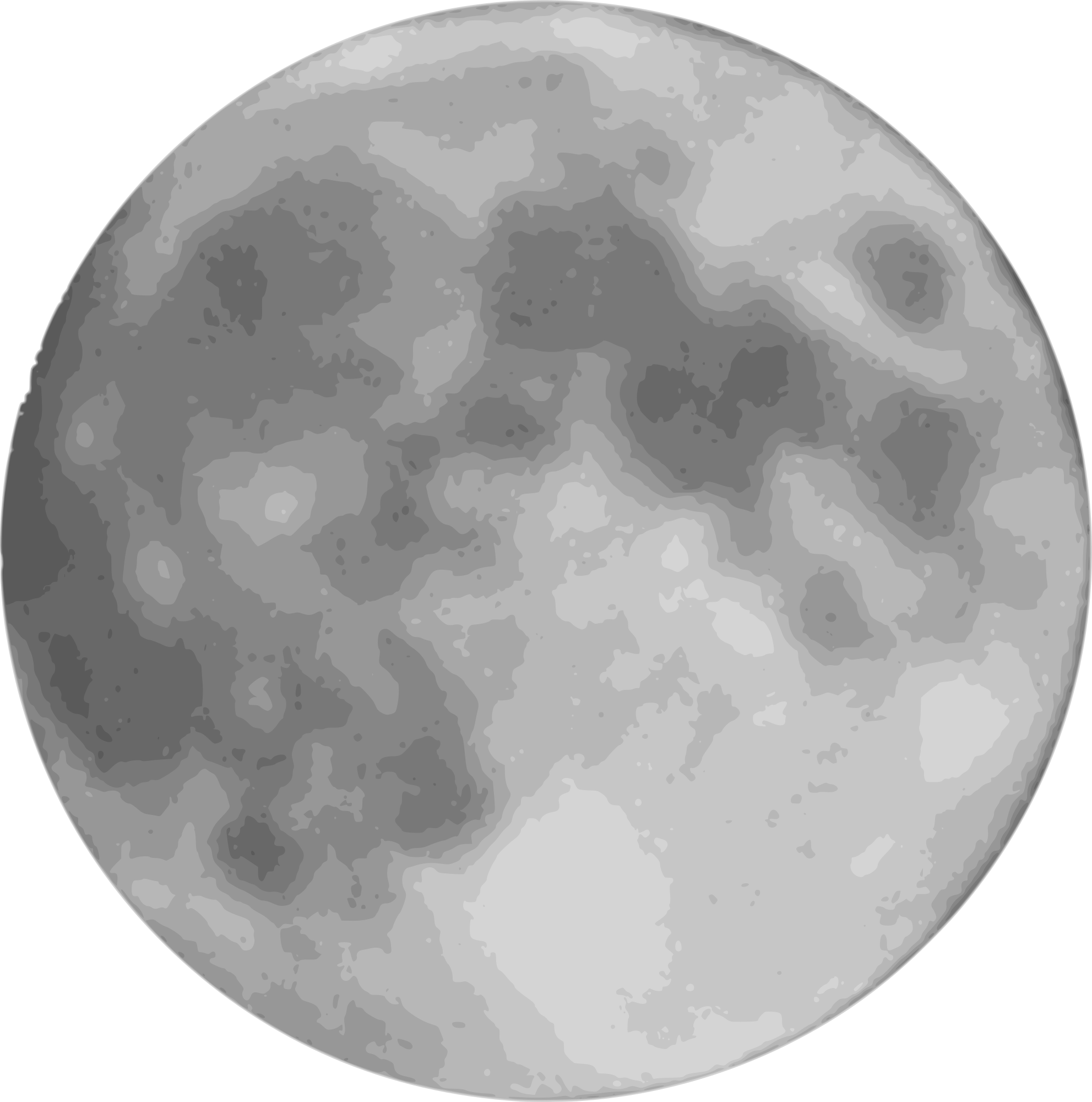 Full Moon Clipart png free, Full Moon transparent png