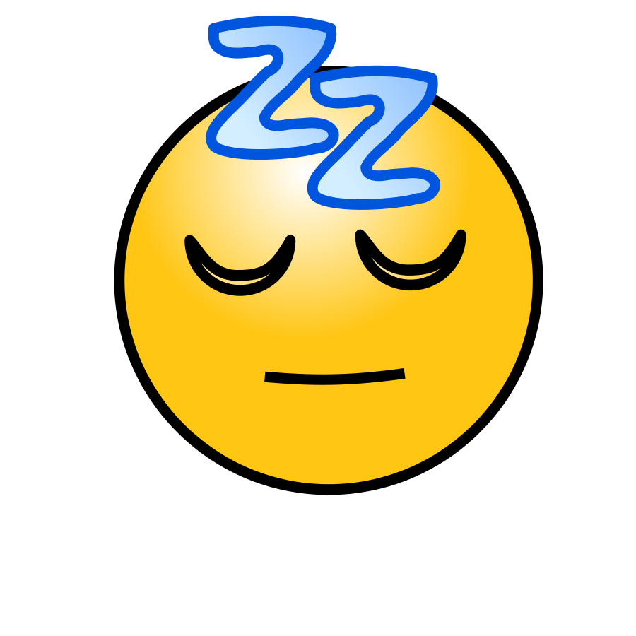 Emoticons: Sleeping Face Clipart png free, Emoticons: Sleeping Face transparent png