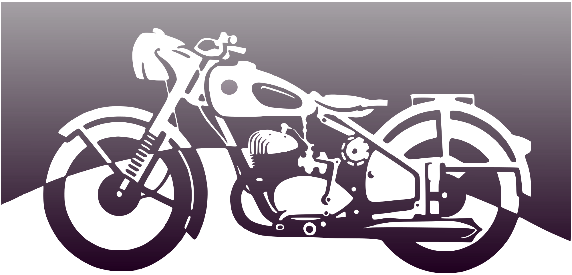 Motorbike Of The 1950Ies Clipart png free, Motorbike Of The 1950Ies transparent png