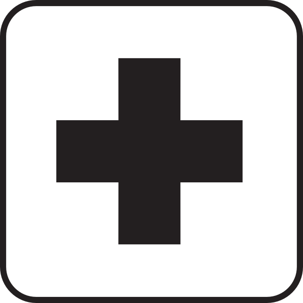 First Aid Map Sign Clipart png free, First Aid Map Sign transparent png