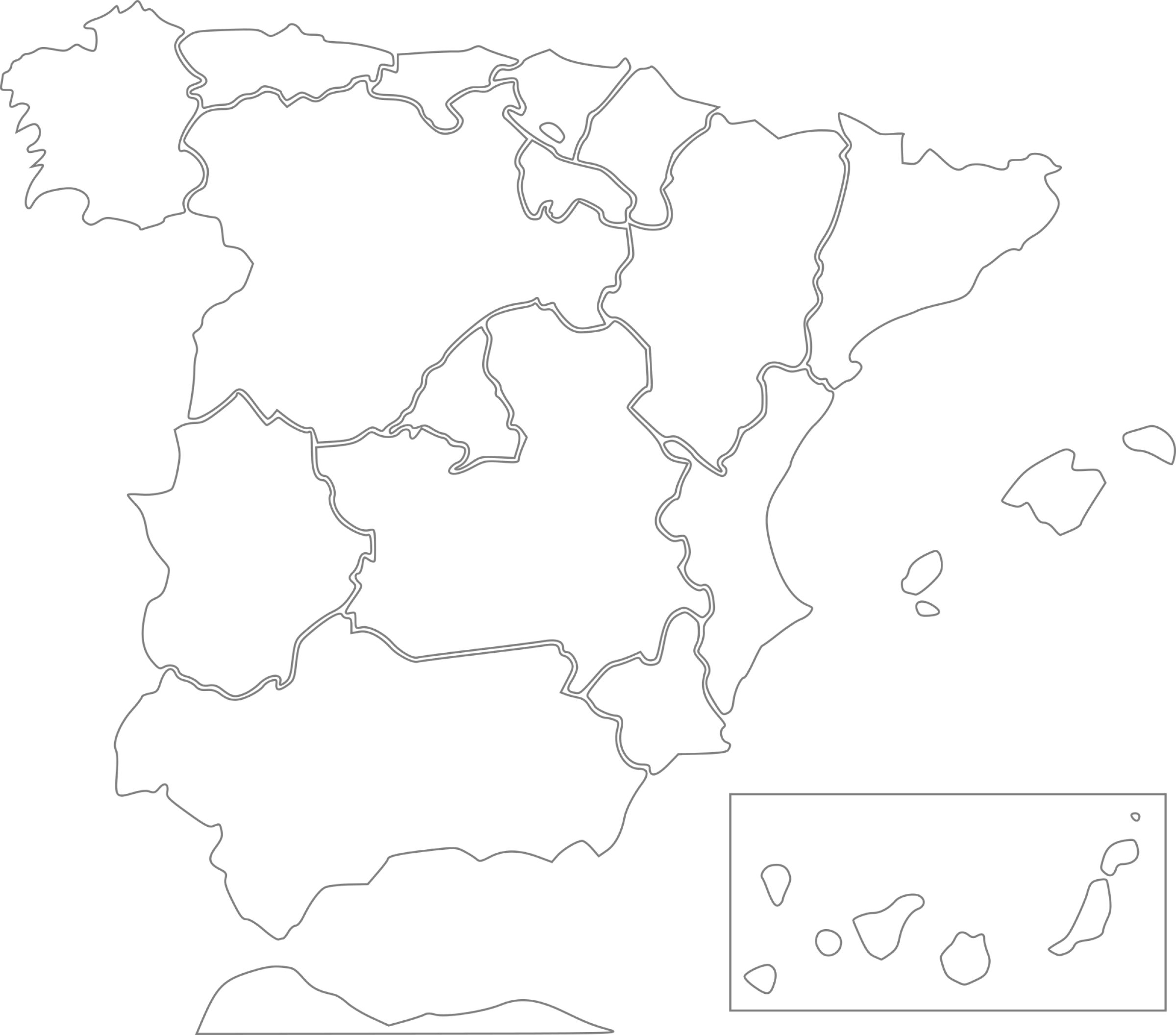 Spain States Clipart png free, Spain States transparent png