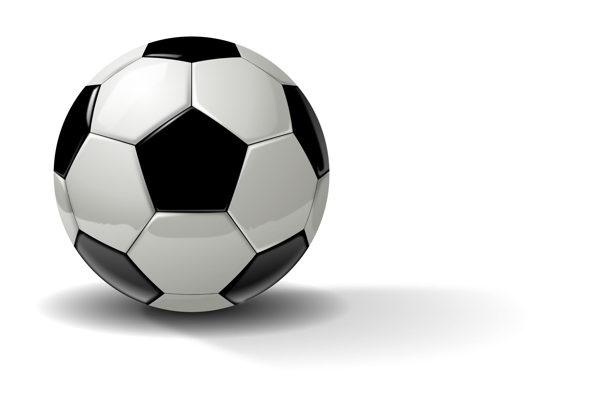 Real Soccer Ball Clipart png free, Real Soccer Ball transparent png