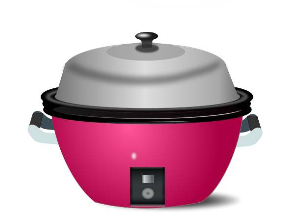 Electric Rice Cook Clipart png free, Electric Rice Cook transparent png