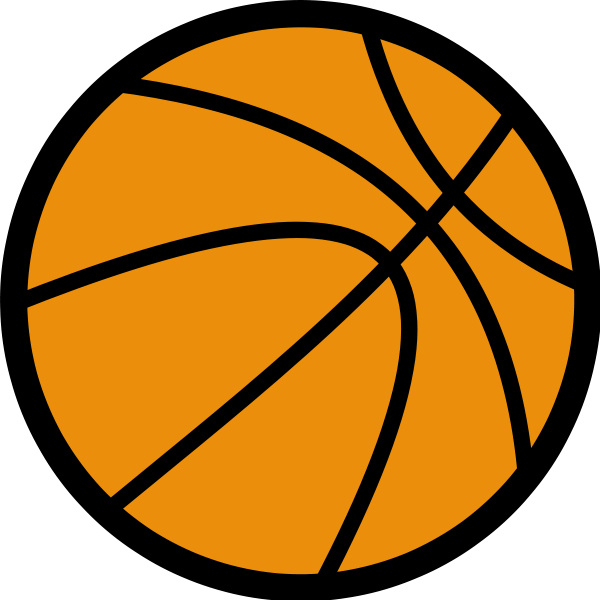 Basketball Clipart png free, Basketball transparent png