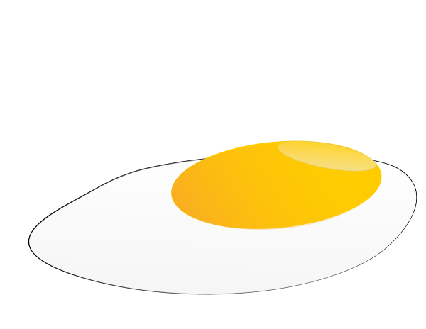 Fried Egg Clipart png free, Fried Egg transparent png