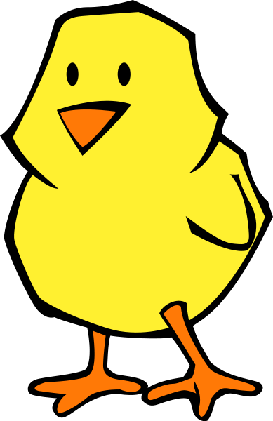 Chick Flat Colors Clipart png free, Chick Flat Colors transparent png