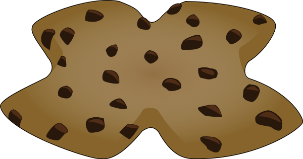 X Shaped Cookie Clipart png free, X Shaped Cookie transparent png