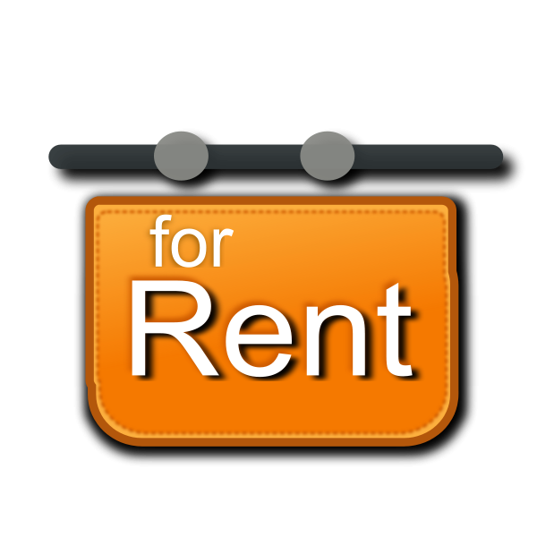 For Rent Signage Clipart png free, For Rent Signage transparent png