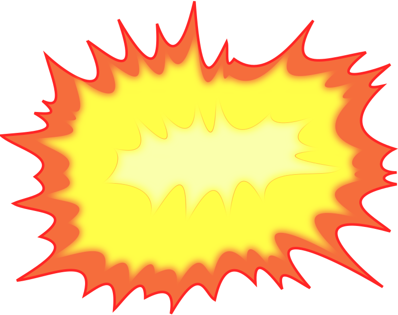 Explosion Clipart png free, Explosion transparent png