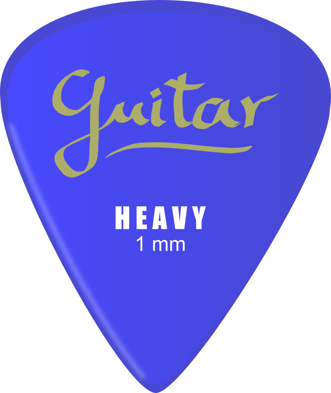 Guitar Pick Clipart png free, Guitar Pick transparent png