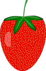 Strawberry Clipart png free, Strawberry transparent png