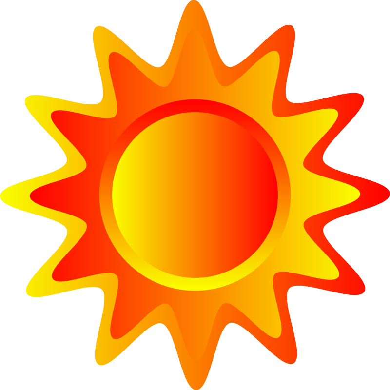 Red, Orange And Yellow Sun Clipart png free, Red, Orange And Yellow Sun transparent png