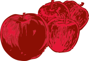 Apples Clipart png free, Apples transparent png