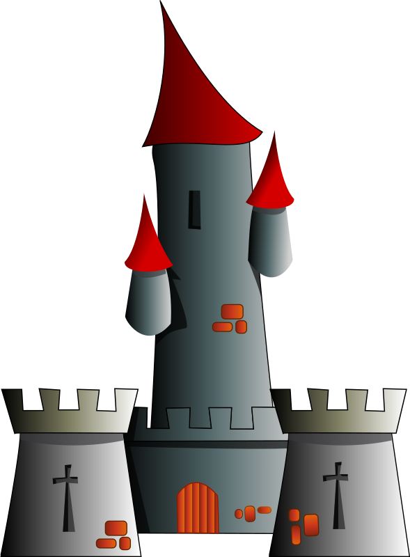 Castle Clipart png free, Castle transparent png