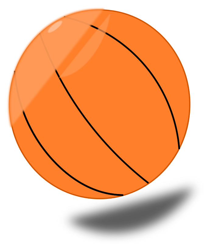 Basket Ball Clipart png free, Basket Ball transparent png