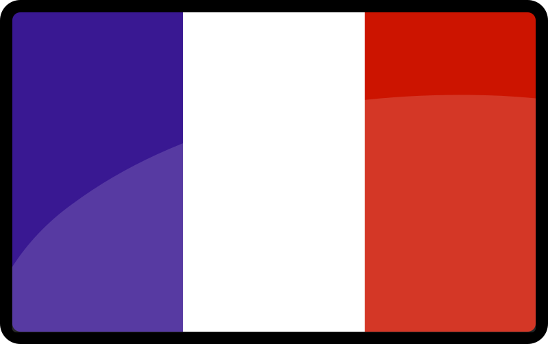 French Flag Clipart png free, French Flag transparent png