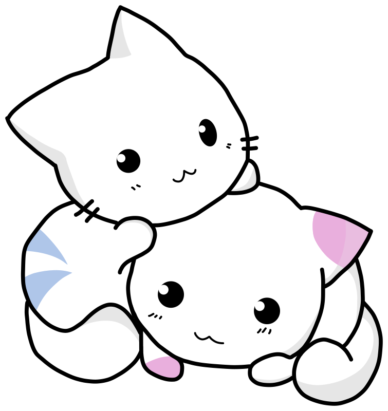 Cuty Cats Clipart png free, Cuty Cats transparent png