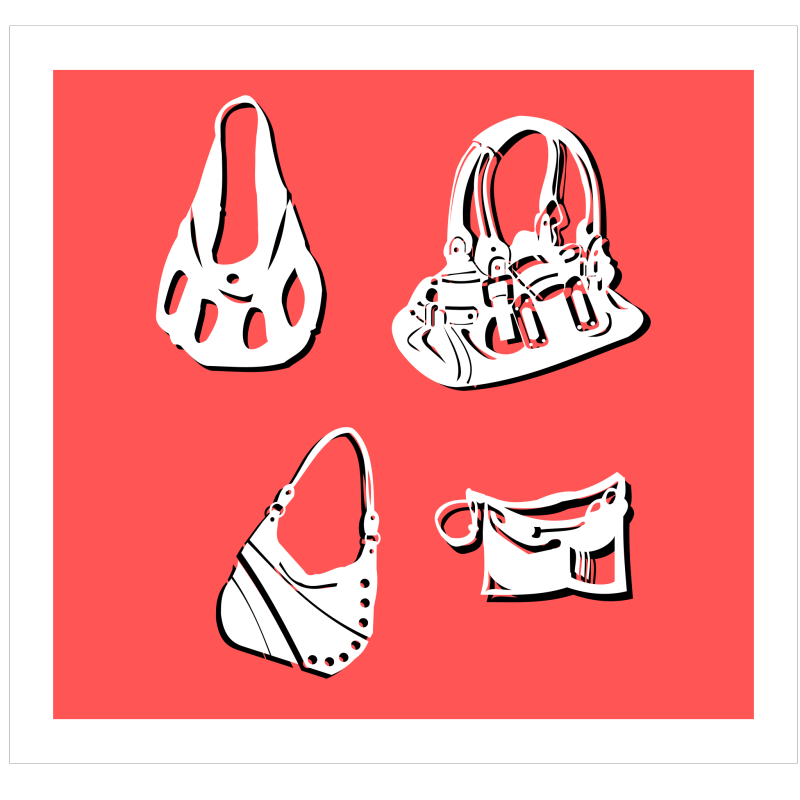 Bags Clipart png free, Bags transparent png