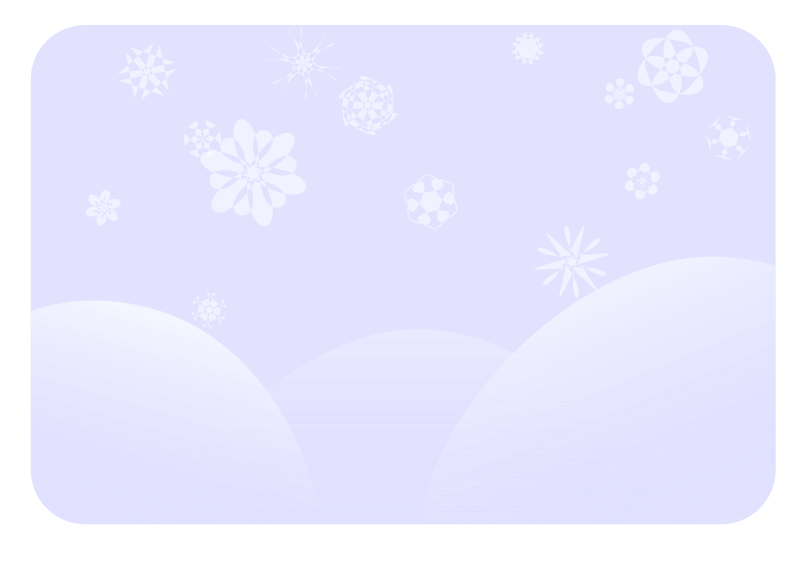 Soft Blue Snowflakes Clipart png free, Soft Blue Snowflakes transparent png