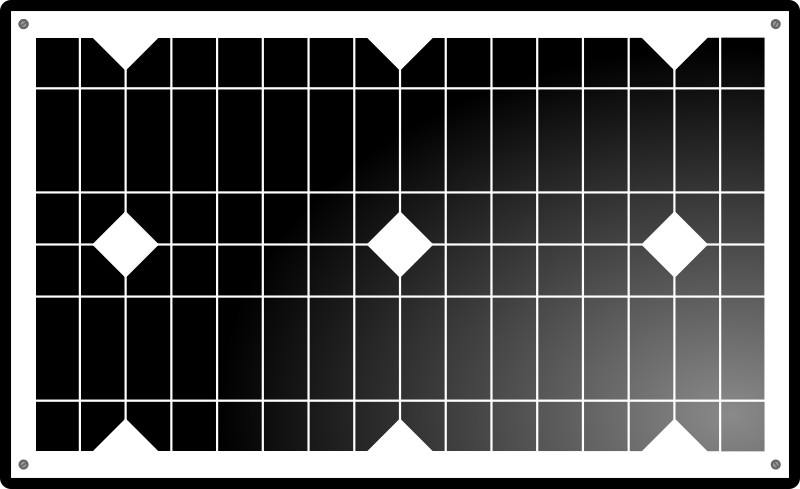 Solar Panel Clipart png free, Solar Panel transparent png
