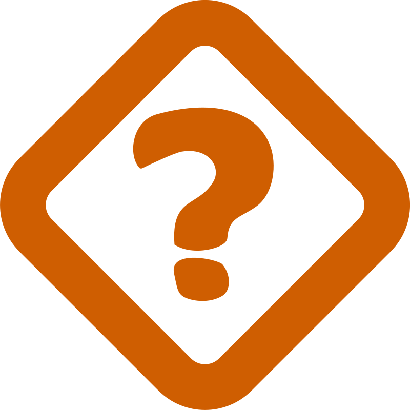 Simple Question Sign Clipart png free, Simple Question Sign transparent png