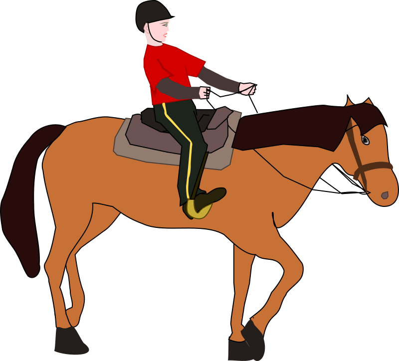 Horse Riding Lesson Clipart png free, Horse Riding Lesson transparent png
