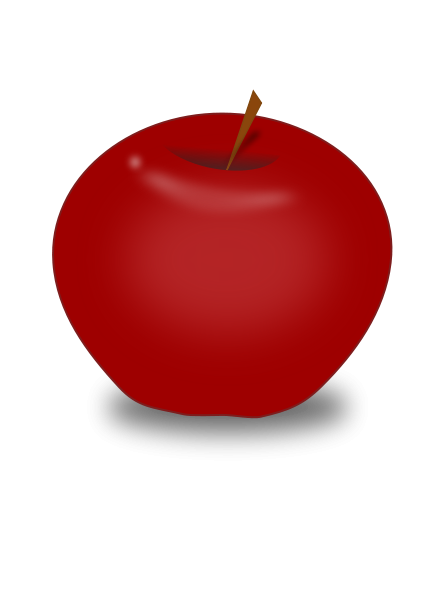 Red Apple Design Clipart png free, Red Apple Design transparent png