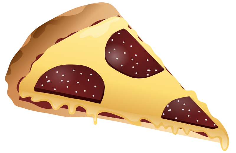 Slice Of Pizza Clipart png free, Slice Of Pizza transparent png