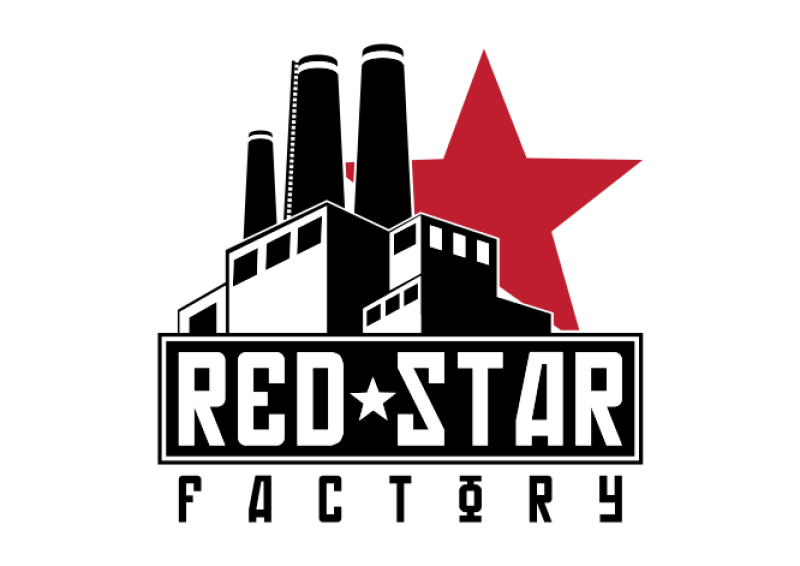 Red Star In Star Clipart png free, Red Star In Star transparent png