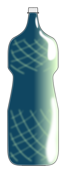 Blue Water Bottle Clipart png free, Blue Water Bottle transparent png