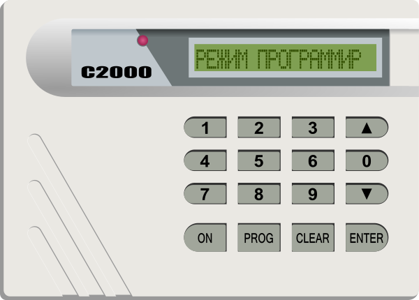 Alarm System S2000 On Clipart png free, Alarm System S2000 On transparent png