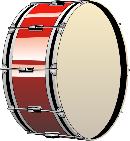 Bass Drum Clipart png free, Bass Drum transparent png