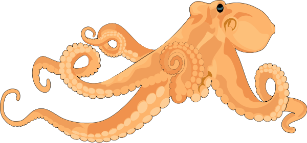 Octopus 02 Clipart png free, Octopus 02 transparent png