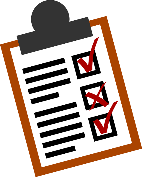 To Do List Clipart png free, To Do List transparent png