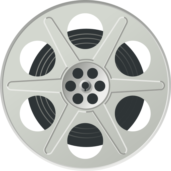 Movie Reel Clipart png free, Movie Reel transparent png