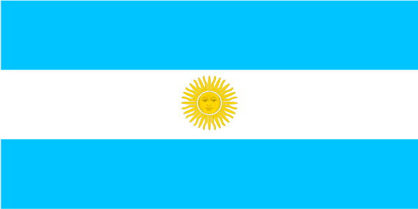 Flag Of Argentina Clipart png free, Flag Of Argentina transparent png