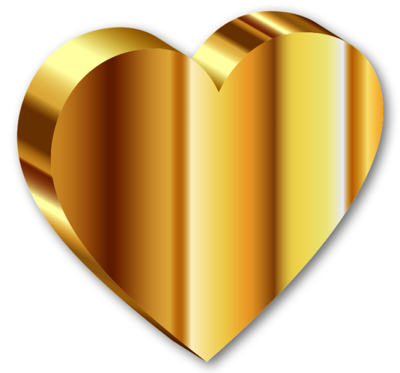 Heart Clipart png free, Heart transparent png
