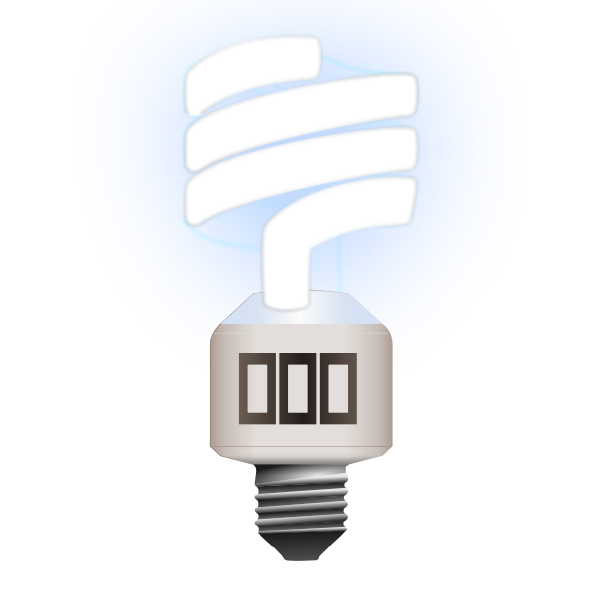 Compact Fluorescent Lamp Clipart png free, Compact Fluorescent Lamp transparent png