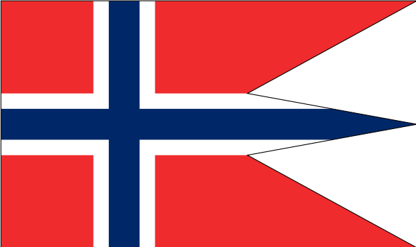Norwegian State And War Flag Clipart png free, Norwegian State And War Flag transparent png