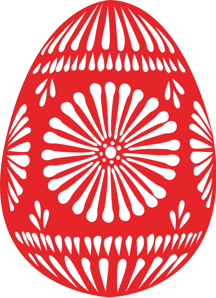 Easter Egg Single Clipart png free, Easter Egg Single transparent png