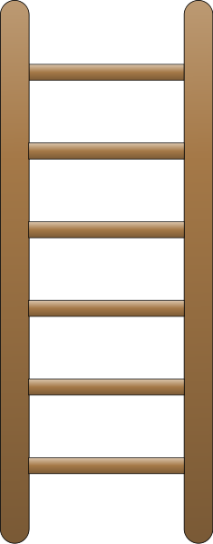 Ladder (Flat) Clipart png free, Ladder (Flat) transparent png