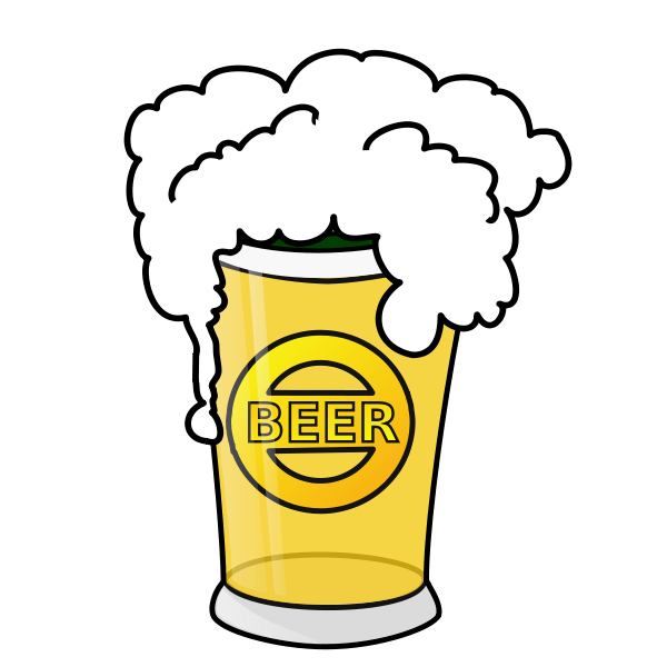 Beer Glass Clipart png free, Beer Glass transparent png
