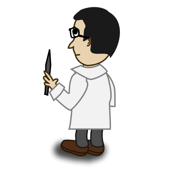 Comic Characters: Professor Clipart png free, Comic Characters: Professor transparent png