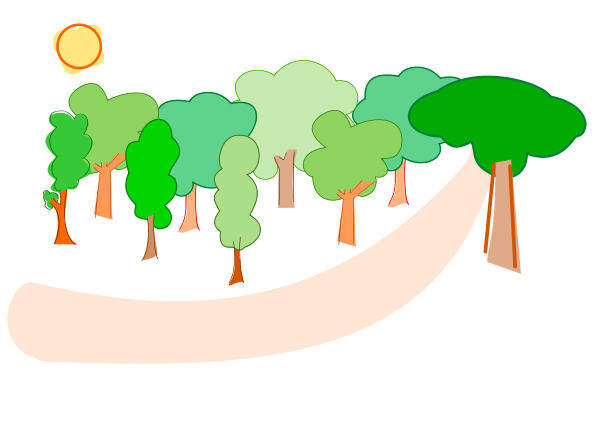Forest Clipart png free, Forest transparent png