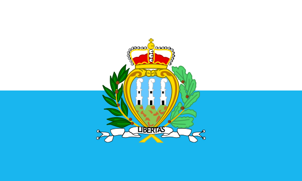 Flag Of San Marino Clipart png free, Flag Of San Marino transparent png
