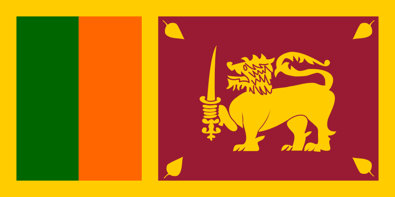 Flag Of Sri Lanka Clipart png free, Flag Of Sri Lanka transparent png