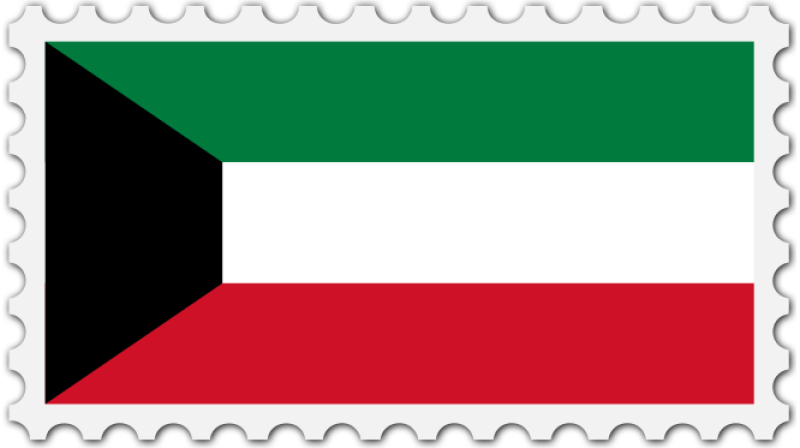 Flag Of Kuwait Clipart png free, Flag Of Kuwait transparent png