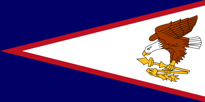Flag Of American Samoa Clipart png free, Flag Of American Samoa transparent png