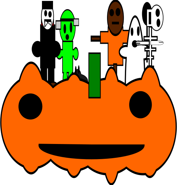 Halloween Clipart png free, Halloween transparent png