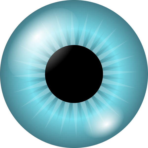 Iris And Pupil Clipart png free, Iris And Pupil transparent png